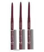 Pack Of 3 Jordana Easyliner For Lips Retractable Pencil Cabernet .009 Oz - $14.84