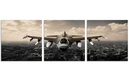 Framed Vintage Aircraft 3 Piece Canvas Wall Art Modern Print Poster Home Decor - $35.90+