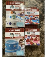 Cake Boss Decorating Tools Bundle Brand New Lot Of 4 Tool Kits - $24.74
