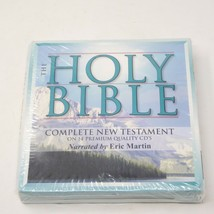 NEW 14 CD The Holy Bible King James Version Complete New Testament Eric ... - $29.65