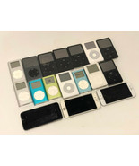 LOT OF 17 - Apple iPods/iPhones - FOR PARTS OR REPAIR - $593.99