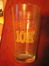 Disney's Race For The Taste 10K Oct 7, 2007 Pint Bar Glass - $11.75