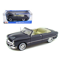 1949 Ford Convertible Gray 1/18 Diecast Model Car by Maisto 31682gry - $74.67