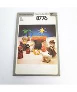 Simplicity 8776 Nativity Christmas Creche Vintage 1978 Pattern Sewing  U... - $25.00