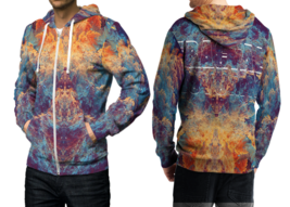 Dust DMT  3D Print Hoodies Zipper   Hoodie Sweatshirt for  men - $49.80
