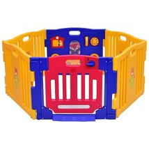 6 Panel Baby Playpen Kids Safety Play Center Yard - $122.35