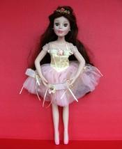 "Brass Key Disney Princess Porcelain Doll 17"" Belle Beauty and Beast Ball... - $25.73"