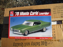 AMT 1970 Monte Carlo Low Rider 1/25 scale - $24.99