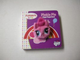 Pinkie Pie Finger Puppet Book By Playskool Baby,  Board Book (2017), Bra... - $6.49