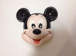 Mickey Mouse Walt Disney Wall Mask Plaque Ceramic Porcelain Made in Japan - $186.99