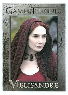 Game of Thrones trading card #86 2013 Melisandre