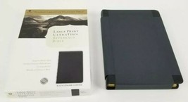 Holcomb Christian Standard HCSB Large Print Ultra Thin Reference Bible -... - $69.20