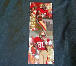 San Francisco 49er's Jerry Rice #80 Football Trading Cards AA-191805 Vintage Co image 4