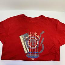 Festivals Acadiens Lafayette Louisiana Men's T-Shirt Large 2017 Hanes Nano-T - $25.73