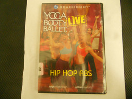 BeachBody Yoga Booty Ballet Live Hip Hop Abs DVD BRAND NEW - $6.99