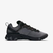 Nike React Element 55 - Mens Trainers Black / Dark Grey Shoes - $197.36+
