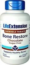 Life Extension Bone Restore 60 Chewable Tablets (Sugar-Free Chocolate) - $25.25