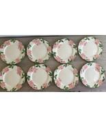 """Set of 8 Franciscan Desert Rose 10 1/2"""" Dinner Plates Arch Logo California - $89.10"""