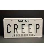 Creepshow 2 License Plate CREEP Maine Vacationland Bam Box zHorror Exclu... - $17.05