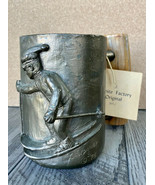 RARE LIMITED EDITION CARL WAGNER SIGNED BRONZE MUG DOWNHILL SKIIER 1976 ... - $418.88