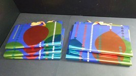 """Lot of 5 Hallmark Large Gift Bags with Handles, Matching, 8"""" x 14"""" x 15""""... - $11.11"""