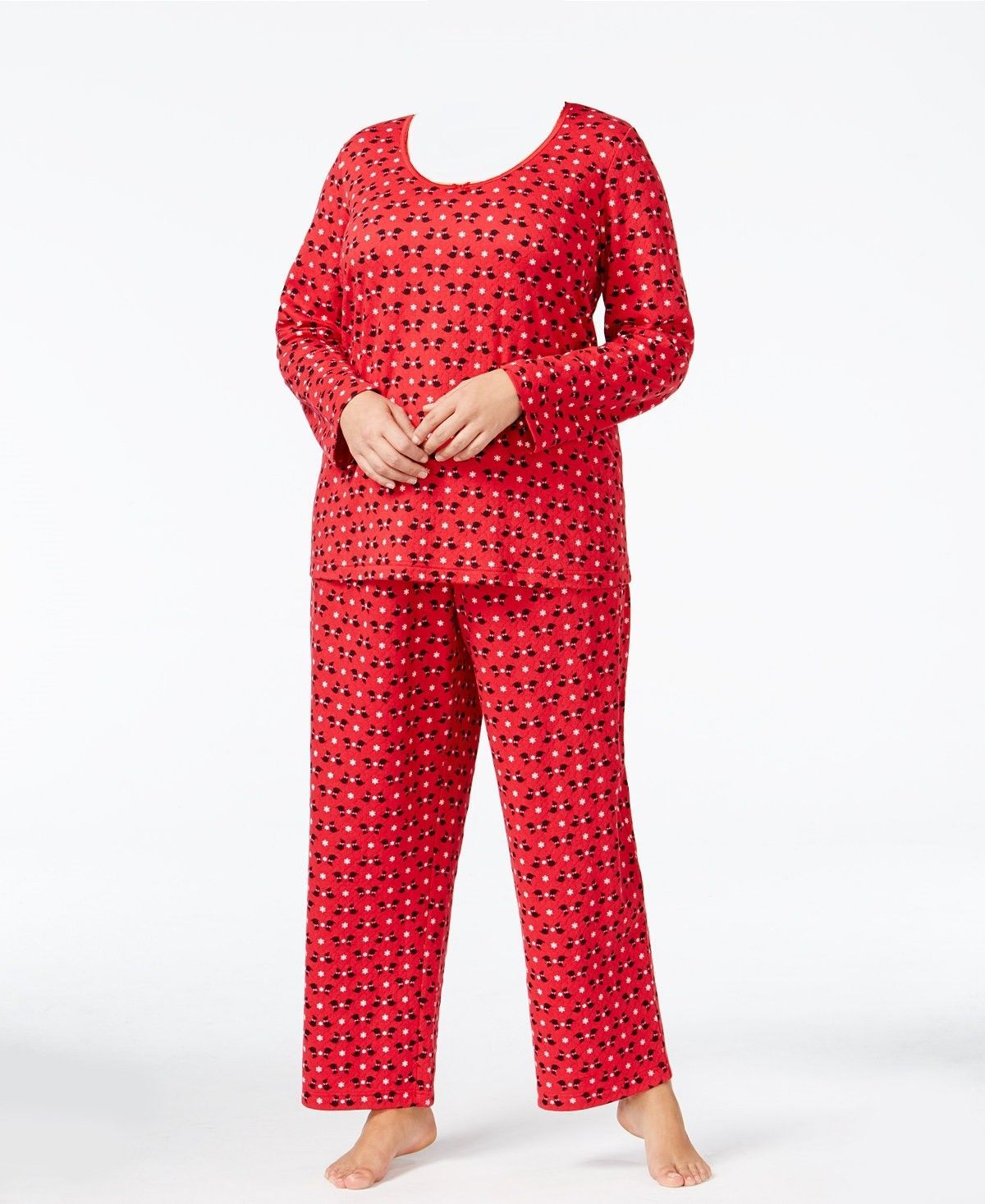 5a928f9c56bd $60 Charter Club Plus Size Printed Knit and 43 similar items
