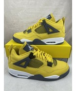 Nike Air Jordan 4 IV Retro Lightning Tour Yellow 2021 Mens SIZE 15 In Hand! - $336.57