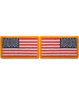 "Red White & Blue USA Flag Military American Flag Patch 1-7/8"" x 3-1/4"" - $6.99"