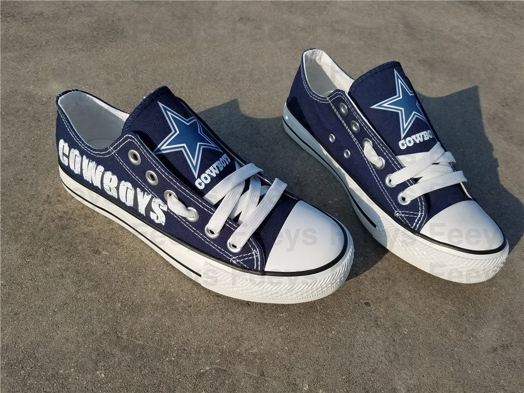 Dallas cowboys shoes cowboys sneakers super bowl fashion birthday gift for her S
