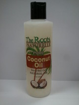 THE ROOTS NATURELLE 100% PURE COCONUT OIL HAIR & SKIN CARE NATURAL OIL 8oz