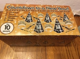 Countdown To A New Year! Deluxe New Year's Party Kit Ships N 24h - $17.80