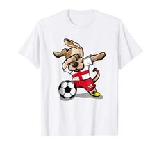 New Shirts - Dog Dabbing Soccer England Jersey Shirt English Football Tee Men - $19.95+