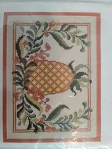 Cathy Needlecraft Kit PINEAPPLE CROSS STITCH Embroidery #0333 NEW Jean Fox - $9.99