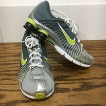 Nike Shox Womens Running Shoes Gray  Lace Up Cushioned Heel Sport Sneake... - $24.74