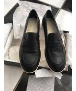 NIB 100% AUTH Chanel 16P Black Lambskin Mocassins Loafers Shoes Sz 36 $775 - $493.02