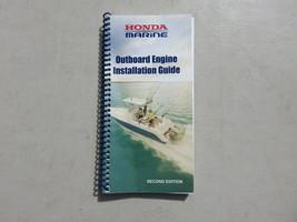2008 Honda Marine Motor Outboard Engine Installation Guide Manual Second Edition - $15.02