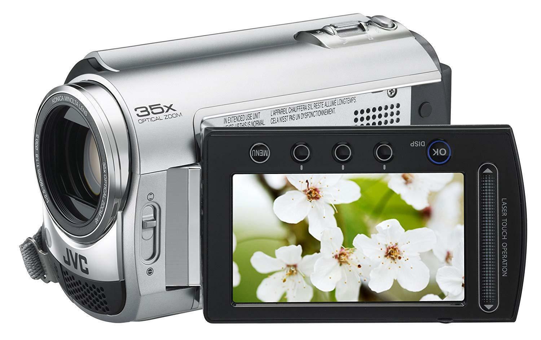 JVC Everio GZ-MG330RU  HDD Digital Video Camera Camcorder 30 GB Silver W/Remote - $158.39