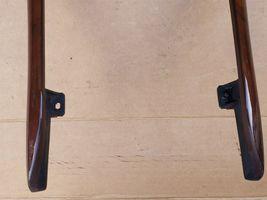 00-02 Mercedes C215 CL500 Shifter Radio Climate Control Trim Bezel Wood Wooden image 4