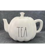 Rae Dunn Thanksgiving Fall By Magenta TEA LL Pumpkin Shaped Ceramic Teapot - $32.99