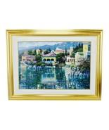 Vtg Framed Howard Behrens Brushstrokes Collection Lithograph Painting on... - $2,995.00