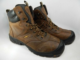 Keen Warren ESD Size 15 2E WIDE EU 48 Men's WP Steel Toe Work Boots 1015398EE