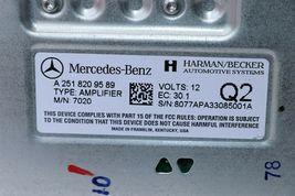 06-08 Mercedes ML350 ML550 GL450 GL550 R350 R500 Harman/Becker Amplifier 7020 image 7