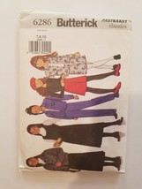 Sewing Pattern Girls Clothing Sizes 7-8-10 Butterick Brand #6286 Jacket ... - $9.50