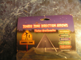 Zombie Zone Direction Arrows Sign - $9.85
