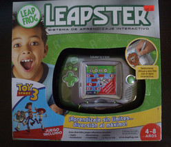 LeapFrog Leapster Learning System w/ Toy Story 3 Game SPANISH VERSION - $83.79