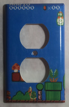 Super Mario brothers Games 8 bit Light Switch Outlet Wall Cover Plate Home Decor image 3