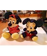 Mickey and Minnie Mouse Vintage Disneyland Korea with Original Tags  - $24.70