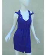 Anthropologie Frock Tracy Reese Dress  Purple Silk Blend Delaney Dress S... - $27.90