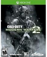 Call Of Duty Modern Warfare 2 Remastered Xbox One Xbox Series X/S NO CD ... - $7.00