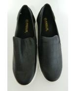 Magellan Outdoors Ladies Slip On Black Faux Crock Plastic Upper Size 10 B US - $22.65